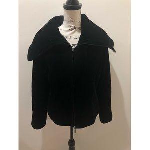 Jackets & Blazers - Vintage Velour Jacket Size M